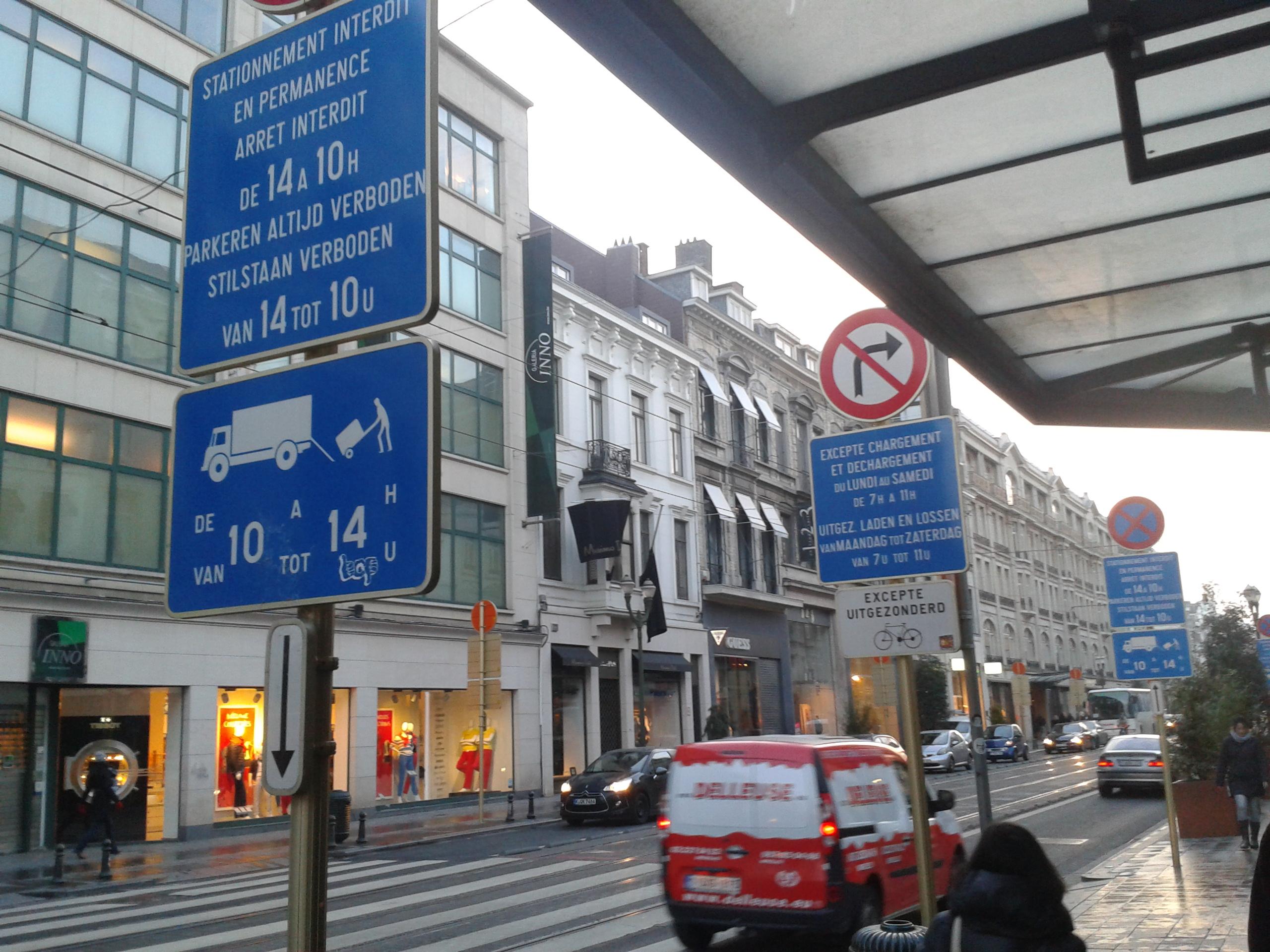 Bruxelles, avenue Louise