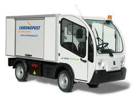 petit véhicule de livraison électrique urbain