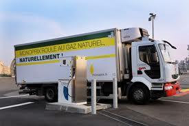 camion GNV Monoprix