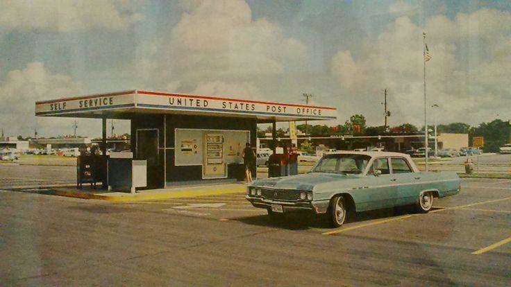 bureau de Poste drive USA 1965