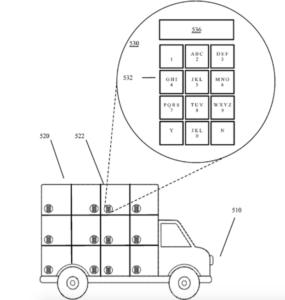 Brevet du véhicule de livraison autonome Google